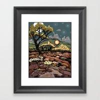 April 9, 2012 - Adjusted… Framed Art Print