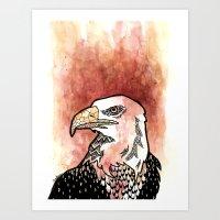 Bold Bird Art Print