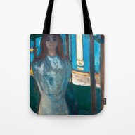 The Voice, Summer Night … Tote Bag