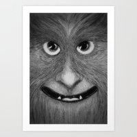 Just Smile Art Print