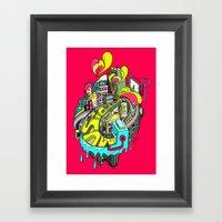 Popcity Framed Art Print