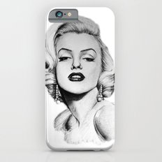 Marilyn Monroe portrait Slim Case iPhone 6s