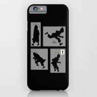 Tintin, Silhouetted iPhone 6 Slim Case