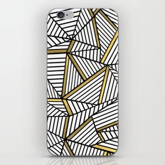 Ab Lines 2 White Gold iPhone & iPod Skin