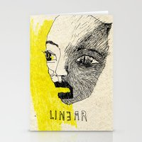 linear Stationery Cards