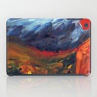 Expressionist Landscape iPad Case