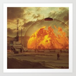 Art Print - PLASMA.INCINERATOR1.5  (everyday 02.13.16) - beeple