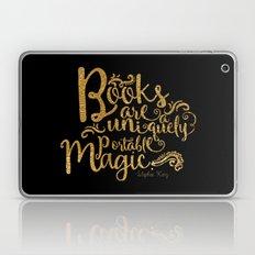 Books Are A Uniquely Por… Laptop & iPad Skin