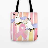 Flight Of The Boobee Tote Bag