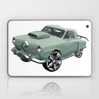 Studebaker in Green Laptop & iPad Skin