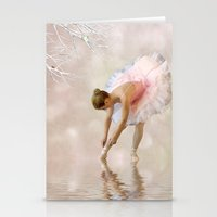 Dancer in Water Stationery Cards