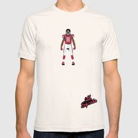 Dirty Bird - Julio Jones Mens Fitted Tee Natural SMALL