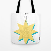 Pain Tote Bag