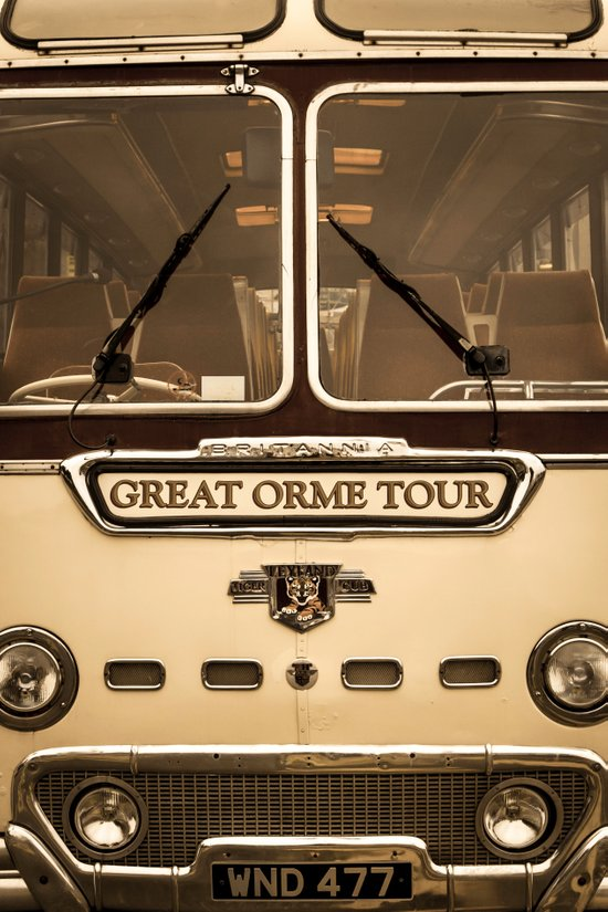 Great Orme Tour Art Print