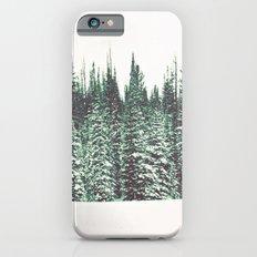 Snow on the Pines iPhone 6 Slim Case