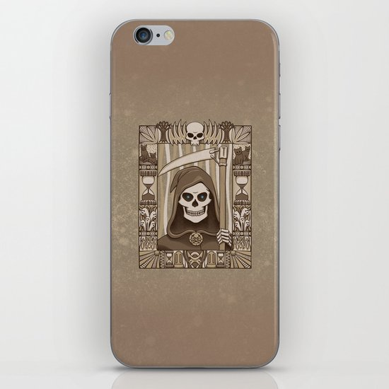COWER BRIEF MORTALS iPhone & iPod Skin