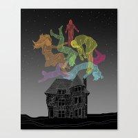 Sleep Paralysis Ball  Canvas Print