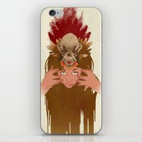 Wet Hot Indian Summer iPhone & iPod Skin
