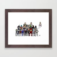 Mass Effect Gang Framed Art Print