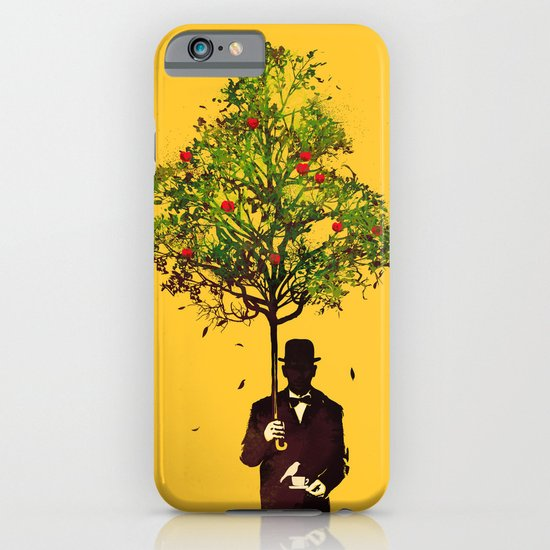 Ethical Genteleman - yellow iPhone & iPod Case