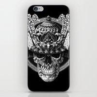 Samurai Skull iPhone & iPod Skin