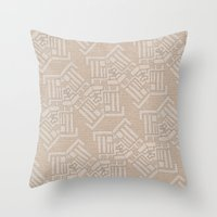 Patternitty  Throw Pillow