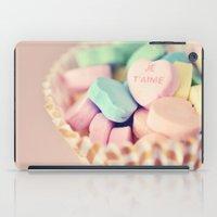 Je T'aime Valentine iPad Case