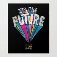 Canvas Print featuring The Future by Chris Piascik