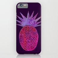 Chevron Pineapple - Purple iPhone 6 Slim Case
