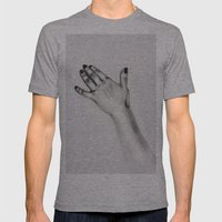 Lady's Hand Mens Fitted Tee Athletic Grey SMALL