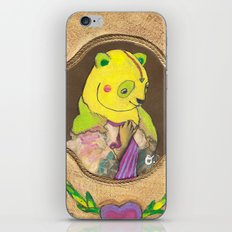Banana Creme Pie Panda iPhone & iPod Skin
