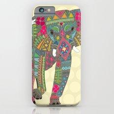 painted elephant straw spot Slim Case iPhone 6s