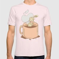 Sugar Mens Fitted Tee Light Pink SMALL