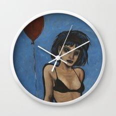Why so blue? Wall Clock