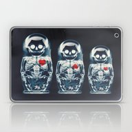 Laptop & iPad Skin featuring Nesting Doll X-Ray by Ali GULEC