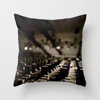 Control Throw Pillow