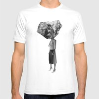 Rock Head Mens Fitted Tee White SMALL