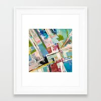 Highrise Framed Art Print