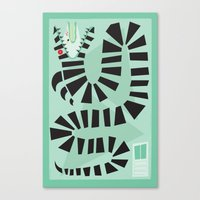 Sandworm Canvas Print