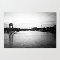 East Side Canvas Print