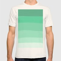 GREEN Mens Fitted Tee Natural SMALL