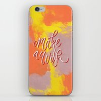 Make a Wish iPhone & iPod Skin