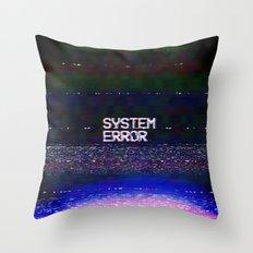 System Error Throw Pillow