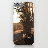 iPhone & iPod Case featuring Where Someone Once Sat by Darien Hoogacker