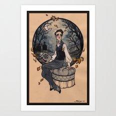 Victorian Witch Art Print
