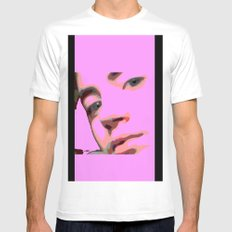 Geisha  Mens Fitted Tee White SMALL