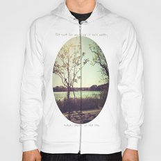 salt water is the cure for anything. Hoody