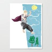 The Man Who Has No Imagi… Canvas Print