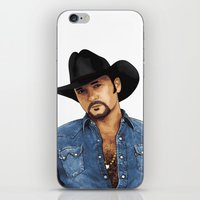 Big Tim iPhone & iPod Skin