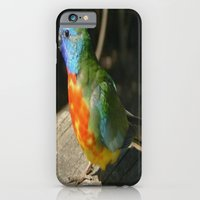 Red Scarlet Chested Parr… iPhone 6 Slim Case